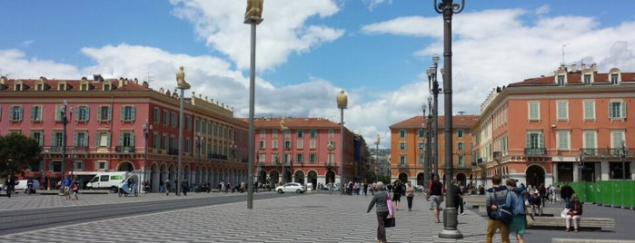 Place Masséna is one of Nice.