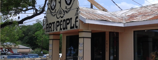 Art for the People Gallery is one of Deep in the Heart of Austin.