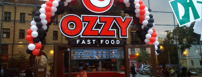 OZZY Fast Food is one of Места.