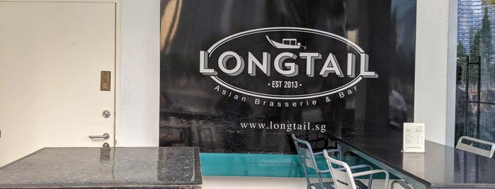 Longtail Asian Brasserie & Bar is one of Lunch.