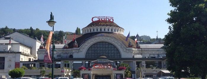 Casino d'Évian is one of Tempat yang Disukai Kouros.