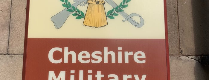 Cheshire Military Museum is one of Went before.