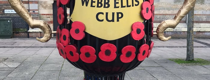 Webb Ellis Rugby Football Museum is one of Lieux qui ont plu à Carl.