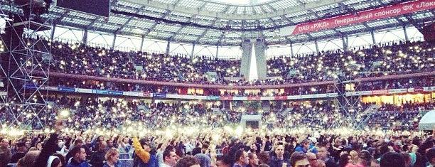 Depeche Mode Moscow 2013 is one of Tempat yang Disukai Ольга.