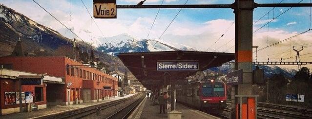 Gare de Sierre is one of Locais curtidos por Winda.