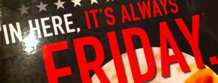 TGI Fridays is one of Recorded.