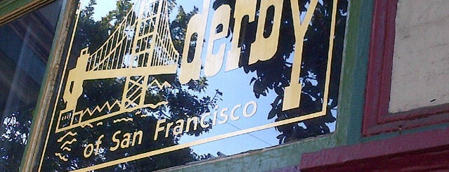 Derby Of San Francisco is one of Upper Haight, San Francisco.