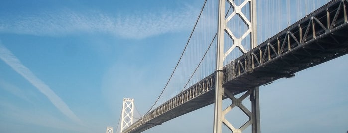 San Francisco-Oakland Bay Bridge is one of Tempat yang Disimpan JRA.