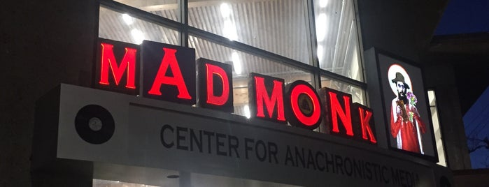 Mad Monks Center for Anachronistic Media is one of Oakland record shops.