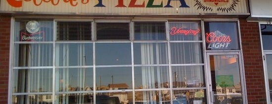Celebre's is one of Pizza.