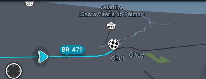Divisa Brasil/Uruguai - Chuí is one of Valentina'nın Beğendiği Mekanlar.