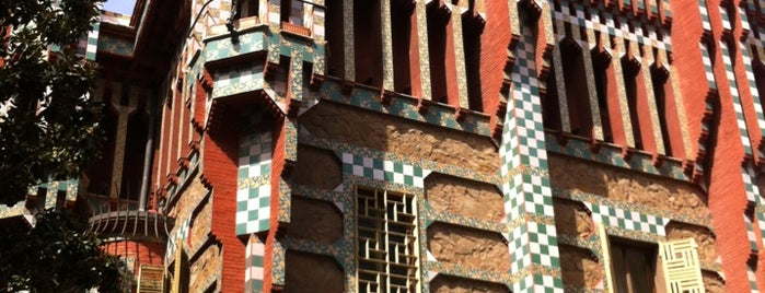 Casa Vicens is one of Spain. Barcelona.