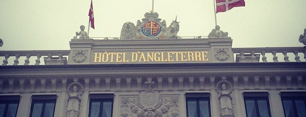 Hôtel d'Angleterre is one of Posti che sono piaciuti a verygoodfood.