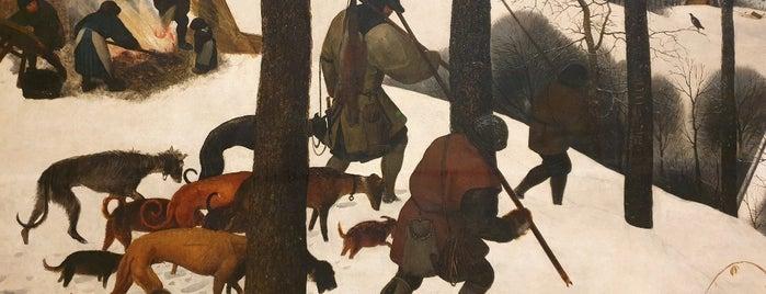 Saal X - Pieter Bruegel is one of Vienna.