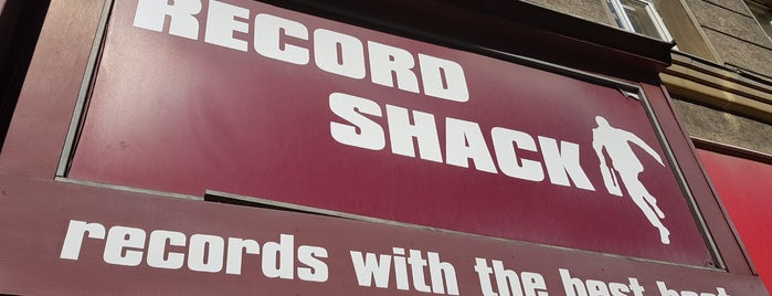 Record Shack is one of Vinyl Shops.