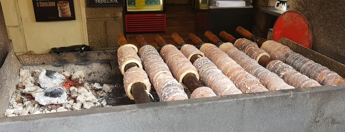 Trdelník is one of prague.