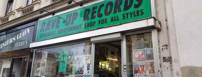 Rave Up Records is one of vienna.