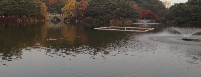 Bundang Central Park is one of South Korea.