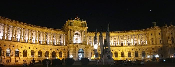 Neue Burg is one of สถานที่ที่บันทึกไว้ของ Elizabeth.