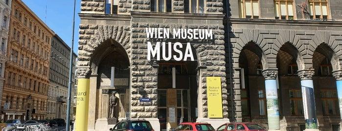 MUSA Museum Startgalerie Artothek is one of Vienna my love.