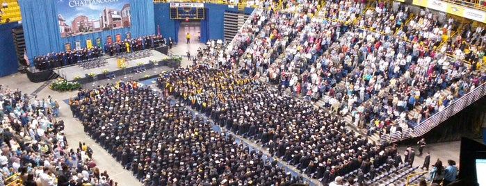McKenzie Arena is one of EUA - Leste.