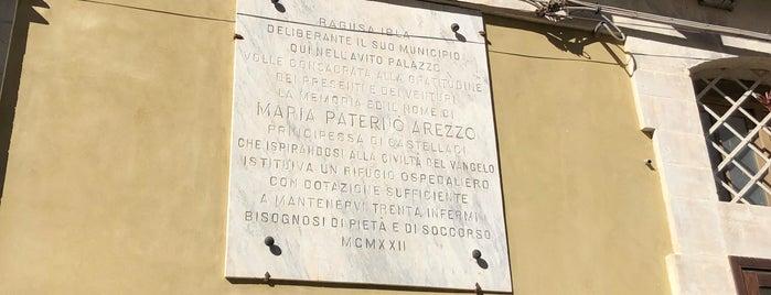Palazzo Arezzo di Trifiletti is one of Scicily guide.