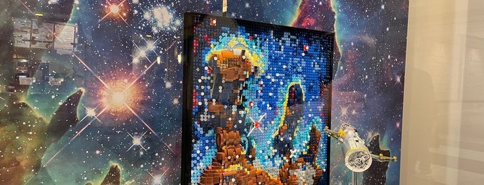 The LEGO Store is one of Dreamforce.