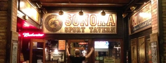 Sonora Sports Tavern is one of Llocs on menjar.
