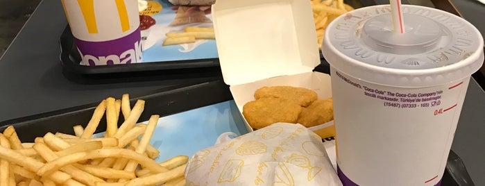 McDonald's is one of Lieux qui ont plu à Gözde.