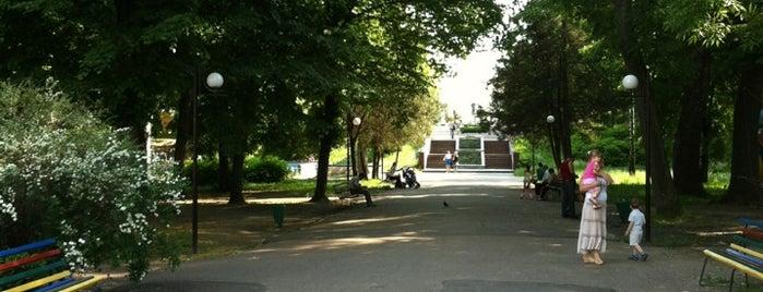 Парк імені Тараса Шевченка is one of Коростышев-Житомир-Бердичев.
