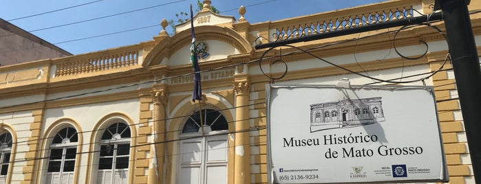 Museu Histórico de Mato Grosso is one of Cuiaba MT.