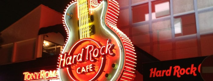 Hard Rock Café is one of Tokyo.