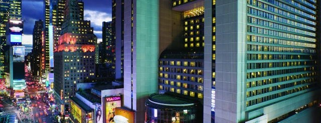 New York Marriott Marquis is one of NY.