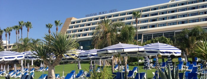Amathus Beach Hotel is one of cyprus.