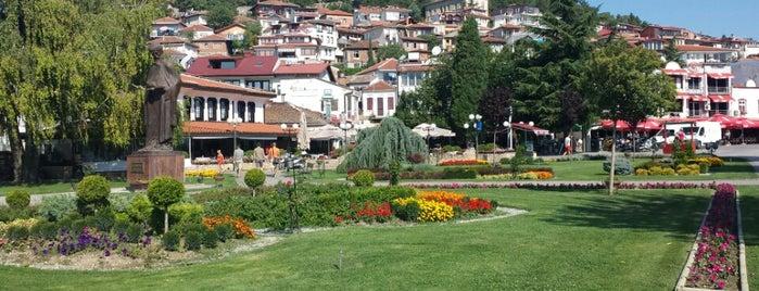 Riben restoran-Ohridska pastrmka is one of Lieux qui ont plu à Evren.