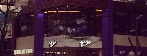Milka Store is one of Lugares Especiais.