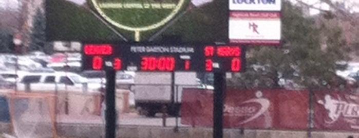 Barton Lacrosse Stadium is one of Locais curtidos por Lunch.