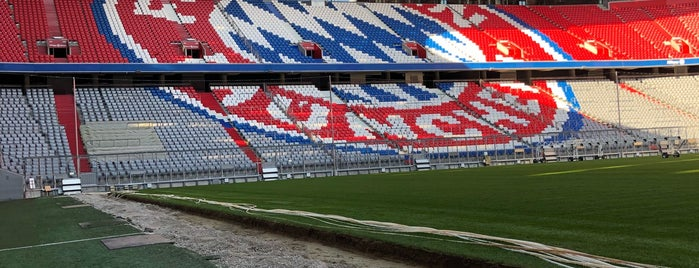 FC Bayern München Megastore is one of สถานที่ที่ Денис ถูกใจ.