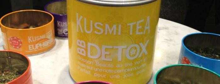 Kusmi Tea is one of Paris food.
