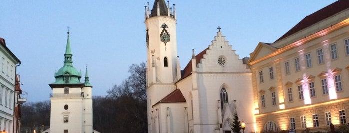 Zámecké náměstí is one of Teplice.