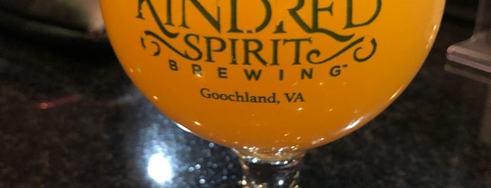 Kindred Spirit Brewing is one of rva.