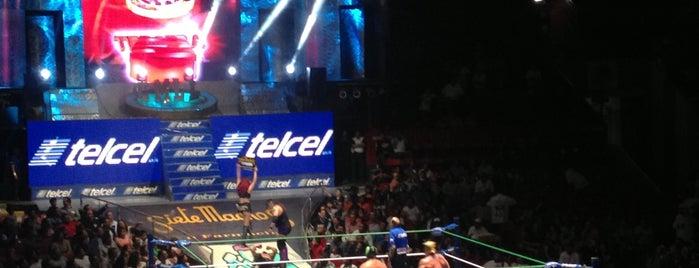 Arena México is one of CDMX.