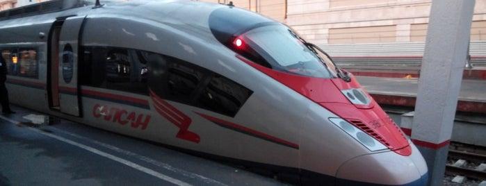Поезд «Сапсан» Санкт-Петербург – Москва is one of МСК.