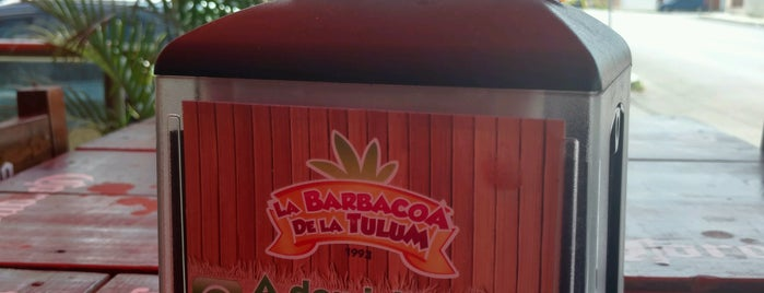 La Barbacoa de La Tulúm is one of Lieux qui ont plu à Leo.