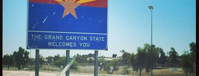 California/Arizona State Line is one of Holiday Bowl Road Trip.