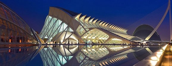 Ciudad de las Artes y las Ciencias is one of Valencia.