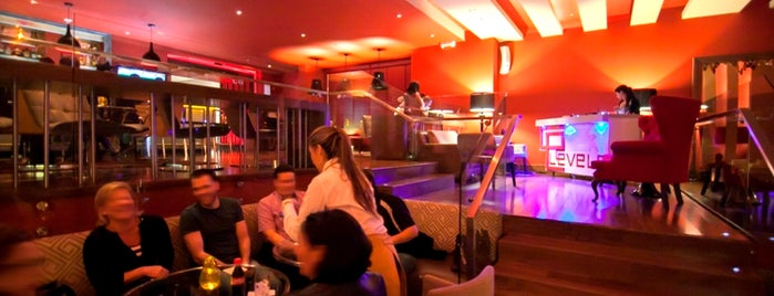 Levels Bar | Hilton is one of Gespeicherte Orte von Georban.