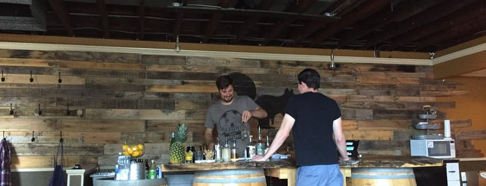 Black Squirrel Distillery is one of adventures outside nyc.