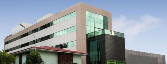 Hospital de Olhos Santa Luzia is one of TIMBETALAB.