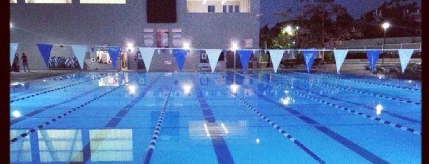LMU - Pool is one of Gespeicherte Orte von Tom.